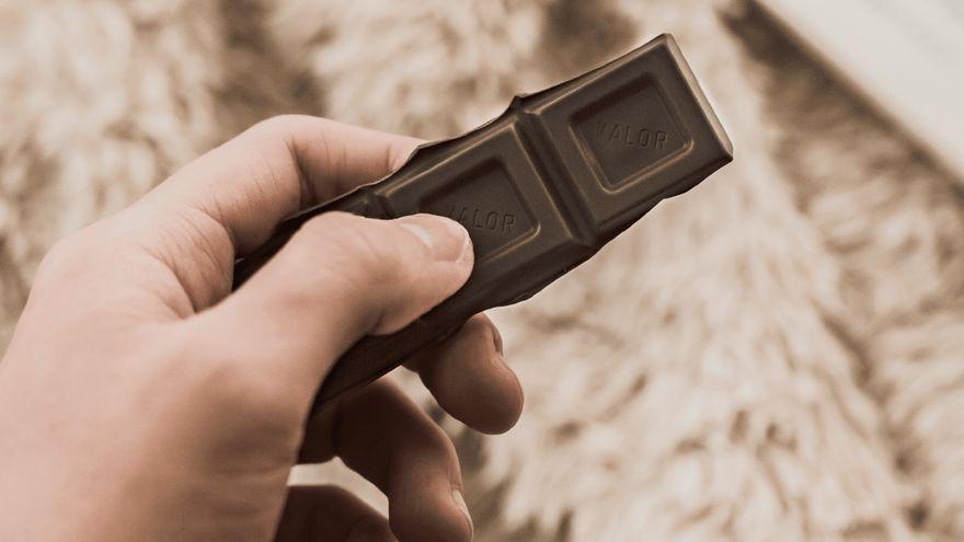 Tros de xocolate