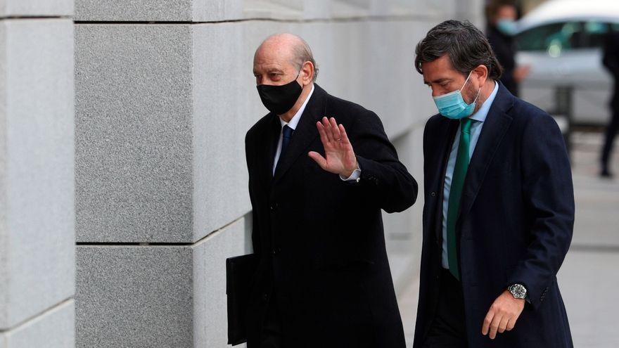 L'exministre de l'Interior Jorge Fernández Díaz arriba a l'Audiència Nacional, en una imatge d'arxiu