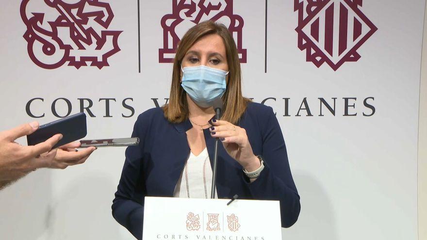 La presidenta del PP de València i portaveu a l'Ajuntament, María José Catalá