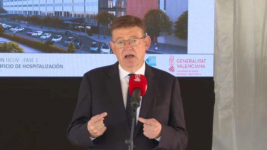 El president de la Generalitat, Ximo Puig, aquest dilluns