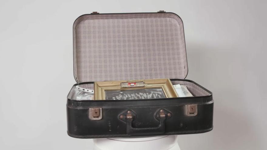 La maleta d'un dels supervivents de Mauthausen es converteix en un dels 'Tresors amb història'