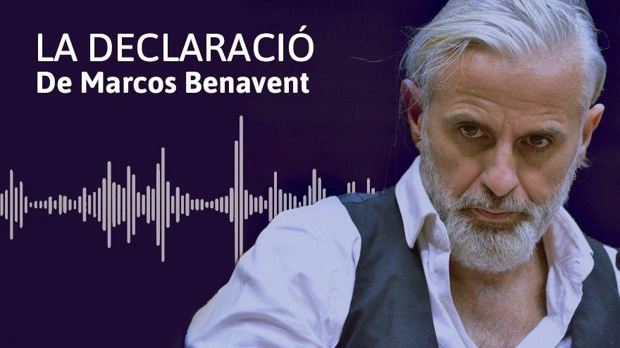 À Punt publica un extracte de la nova declaració en seu judicial de l'exgerent d'Imelsa Marcos Benavent
