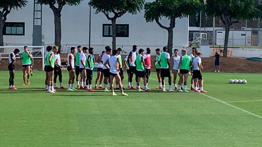 Entrenament del València CF