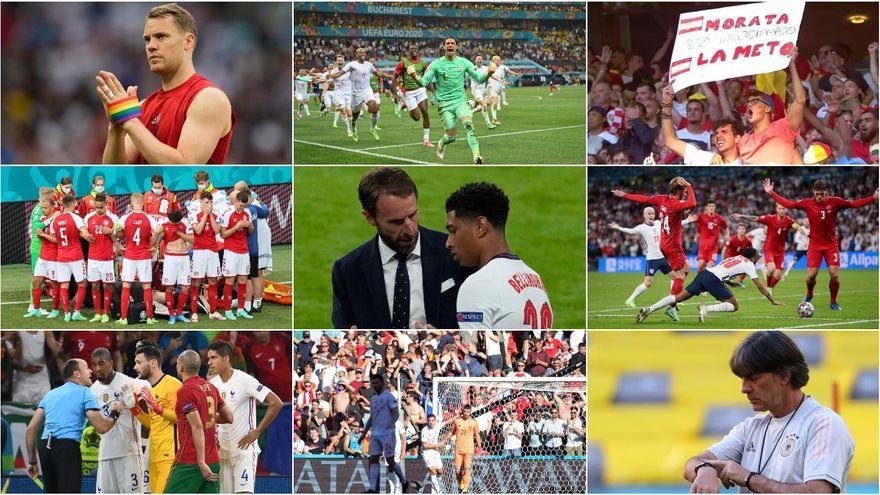 Les millors imatges de l'Eurocopa 2020