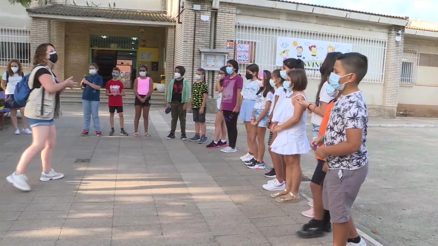 Escolars del col·legi públic Raquel Payà