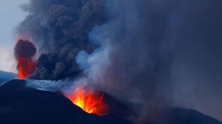 El volcà Cumbre Vieja, aquest dimecres