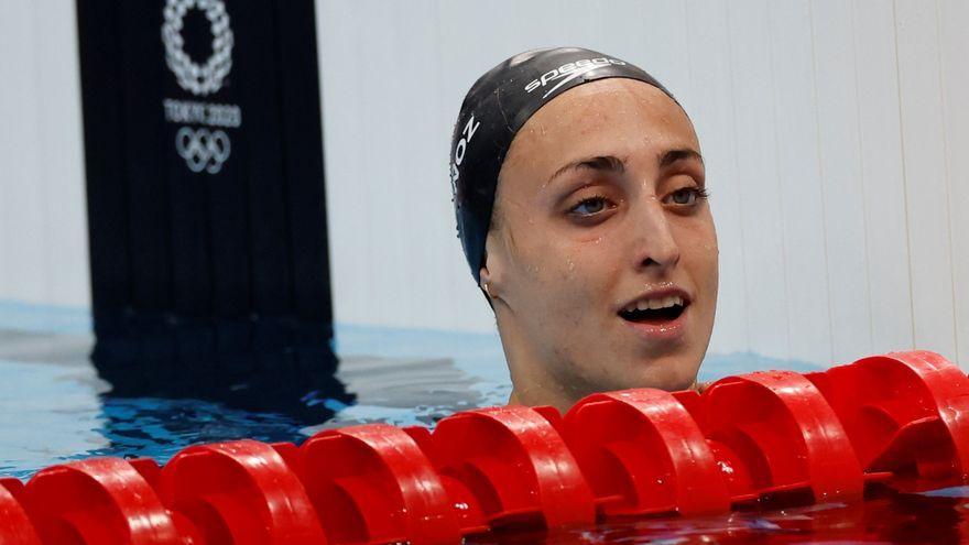 La nadadora castellonenca, Lidón Muñoz