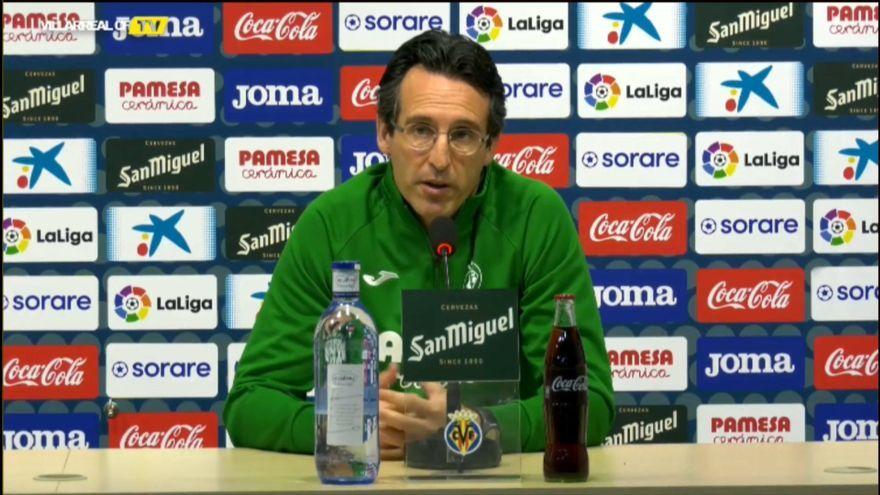 L'entrenador del Vila-real, Unai Emery
