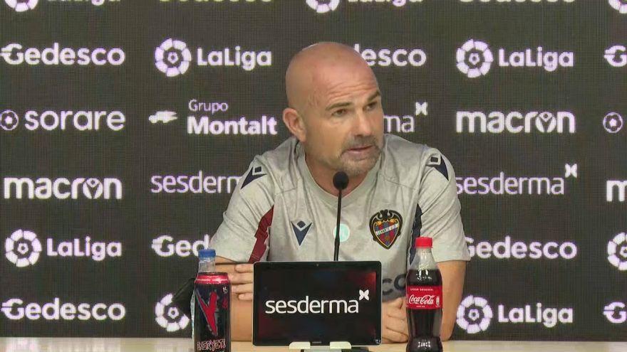 L'entrenador del Llevant, Paco López