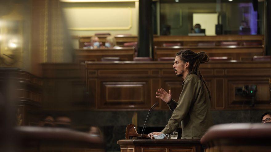 Imatge d'arxiu del ara exdiputat de Podem per les Canàries, Alberto Rodríguez