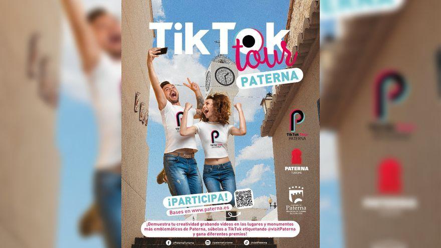 Cartell promocional del TikTok Tour de Paterna