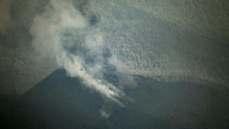 El volcà de La Palma, aquest dilluns