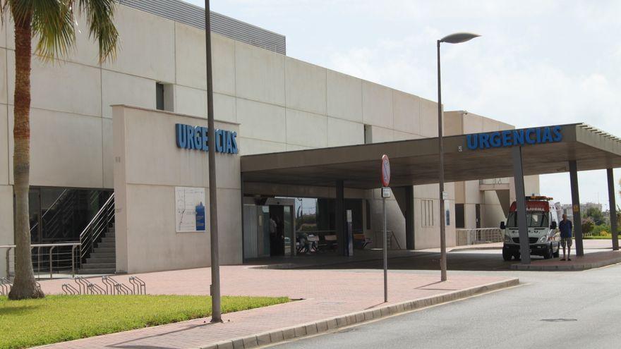 Accés per urgències a l'hospital de Torrevella