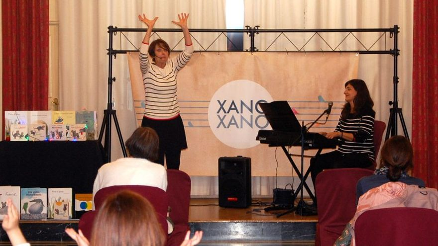 L'espectacle de contes infantils musicats 'Xano-xano' donarà la benvinguda als biblioparcs