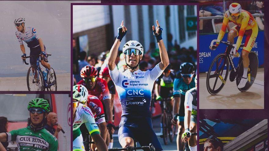 Imatge que ha utilitzat el Burgos BH per a anunciar el fitxatge d'Óscar Pelegrí