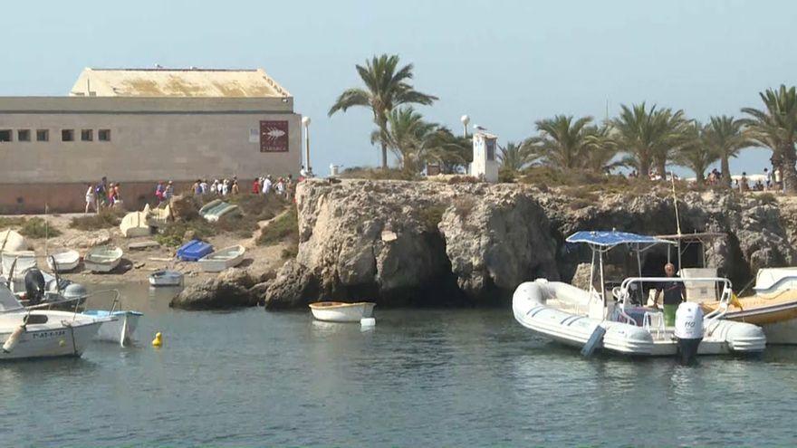 Imatge d'arxiu de l'illa de Tabarca