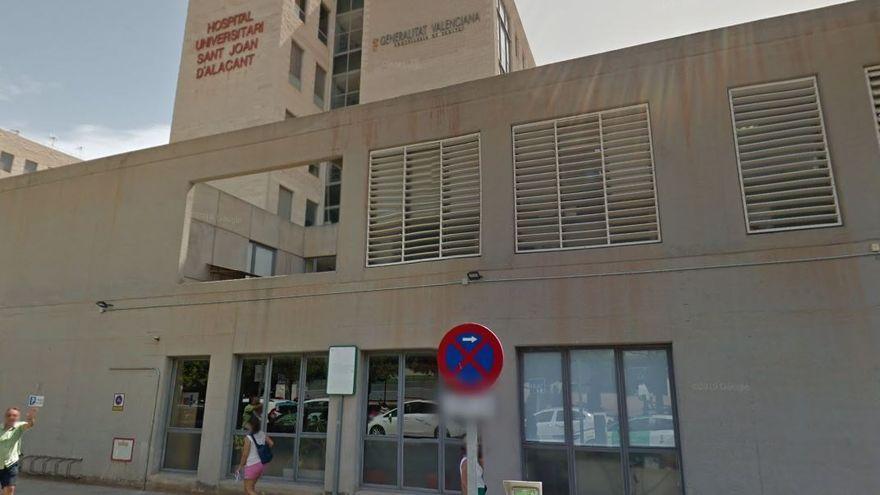 Imatge d'arxiu de l'entrada a l'Hospital General d'Alacant