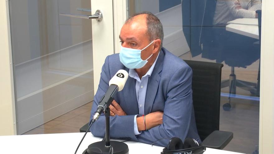 Salvador Navarro en 'Les notícies del matí'