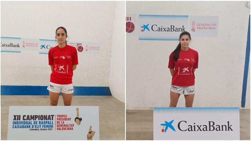Victòria i Ana han superat les semifinals contra Irene i Aida, respectivament