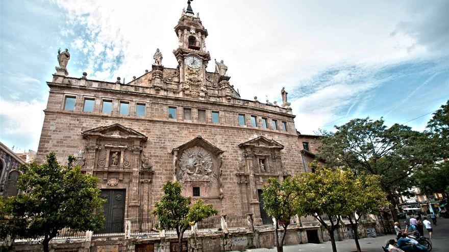 Imatge d'arxiu de l'església de Sant Joan del Mercat de València