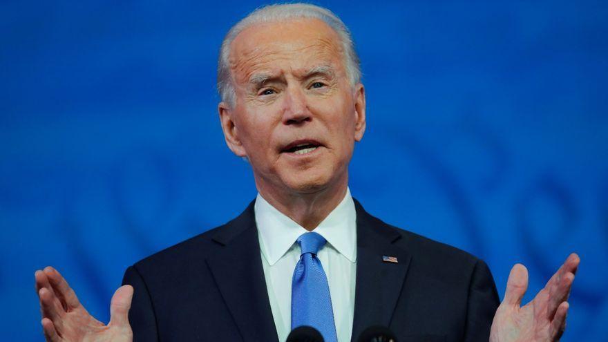 El president electe dels EUA Joe Biden