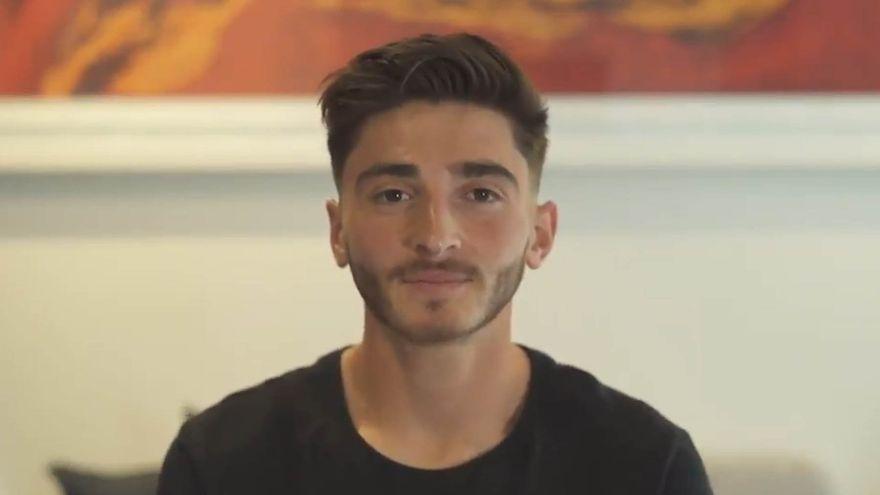 Josh Cavallo en el vídeo amb què feia pública la seua homosexualitat