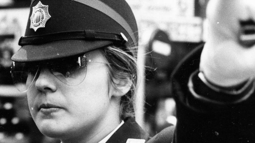 Una de les primeres agents de la Policia Local de València
