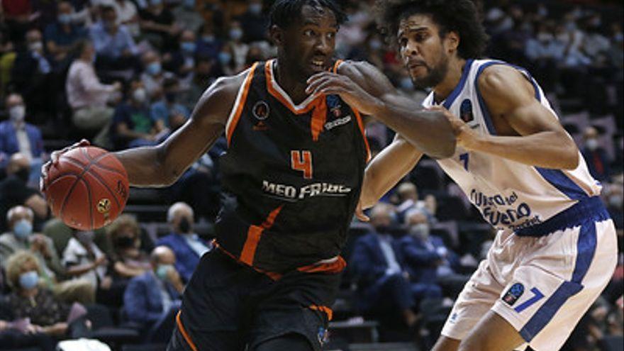 Louis Labeyrie, màxim anotador taronja en el València Basket-Promitheas