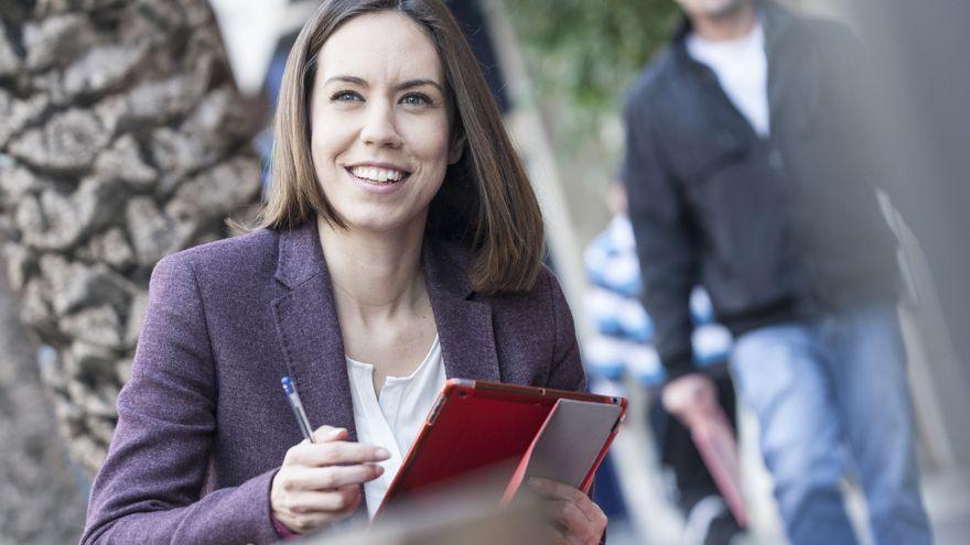 Diana Morant, en una imatge de la campanya electoral de 2015