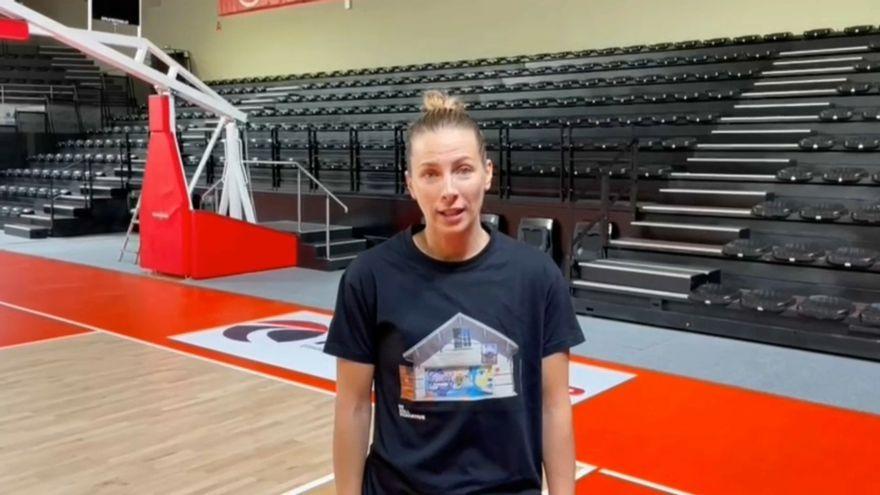 La jugadora de bàsquet 3x3, Sandra Ygueravide