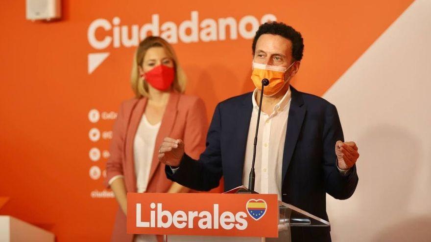 Edmundo Bal en l'inici del curs polític de Ciutadans a la Comunitat Valenciana