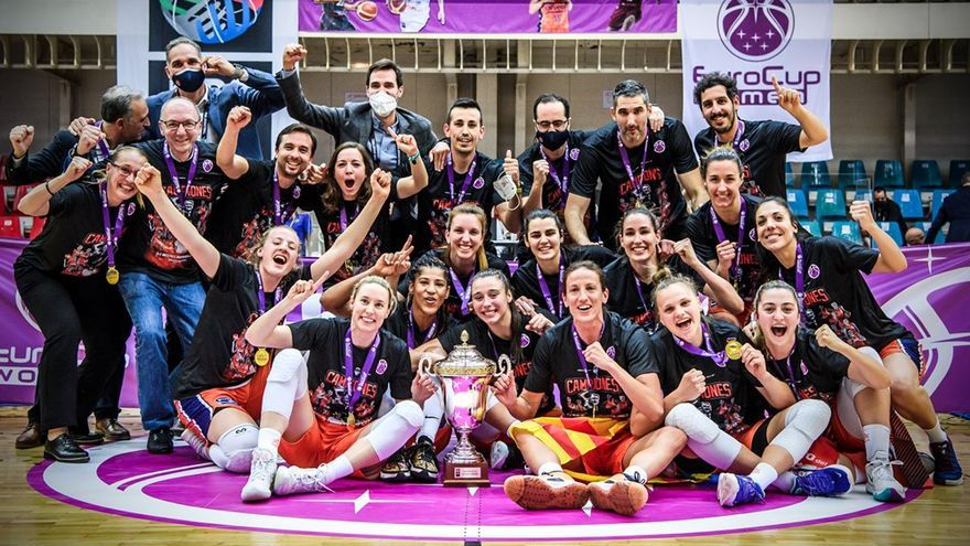 El València Basket jugarà la Supercopa com a representant guanyador de l'Eurocup Women