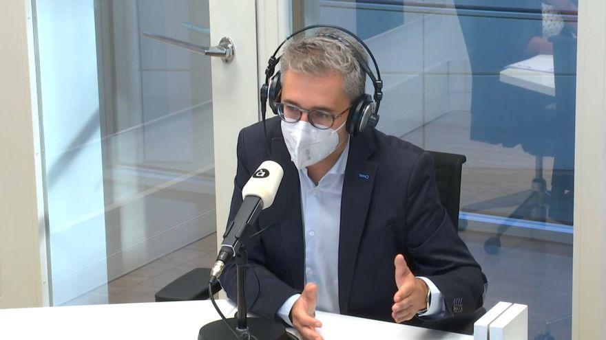 El conseller de Política Territorial, Obres Públiques i Mobilitat, Arcadi España