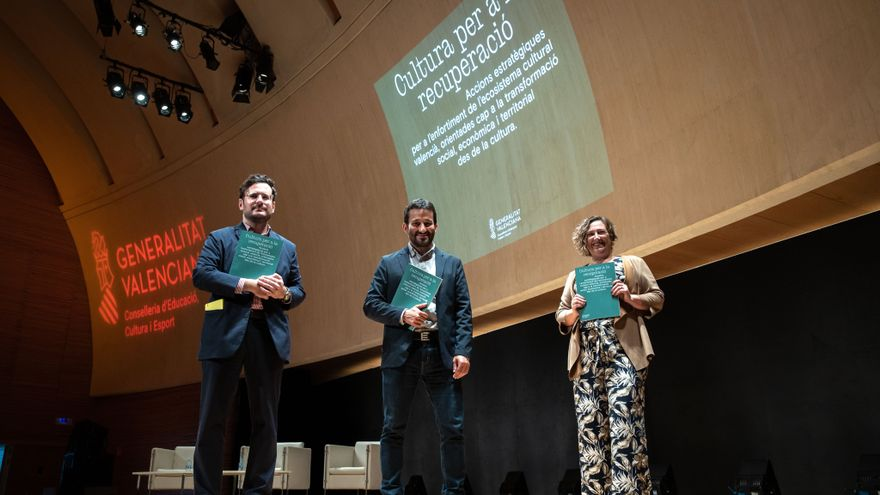 Marzà ha presentat el document 'Cultura per a la recuperació' al Palau de les Arts