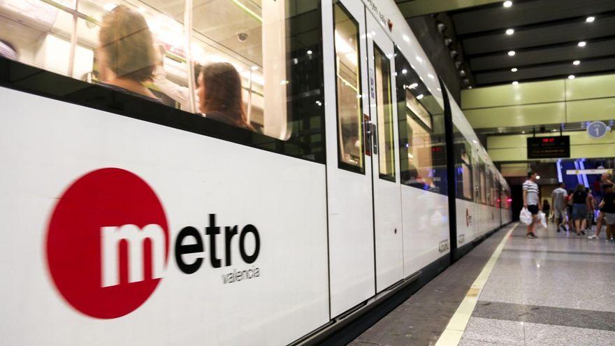 Un vagó de Metrovalència
