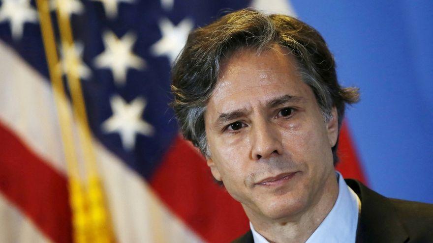 Antony Blinken, el futur secterari d'Estat dels Estats Units.