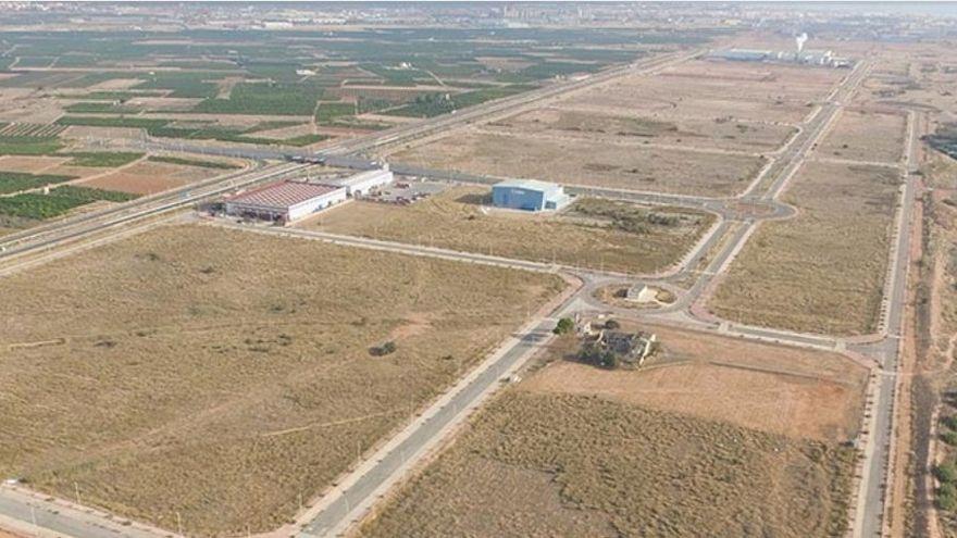 Una imatge de la zona industrial