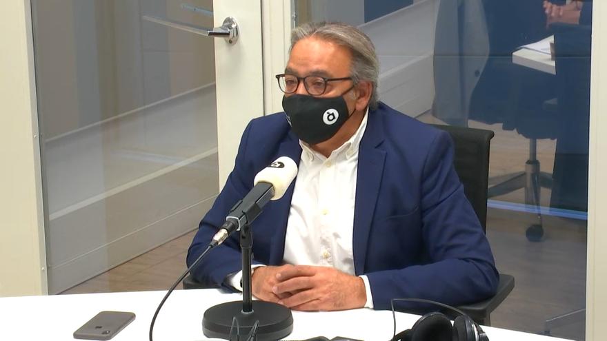 Manolo Mata en 'Les notícies del matí'