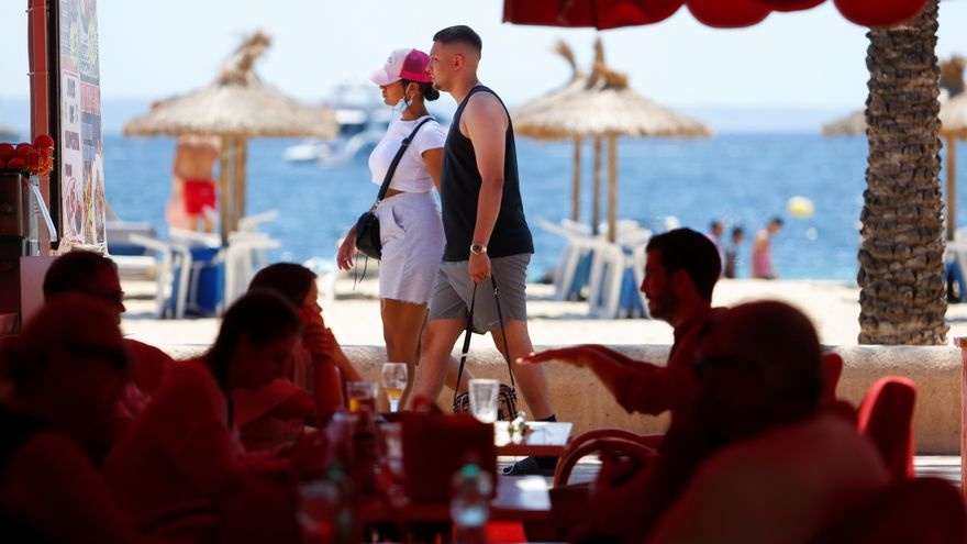 Una parella de turistes a Mallorca