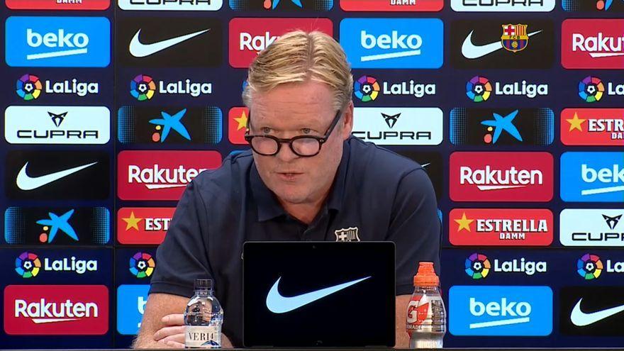 L'entrenador del Barça, Ronald Koeman