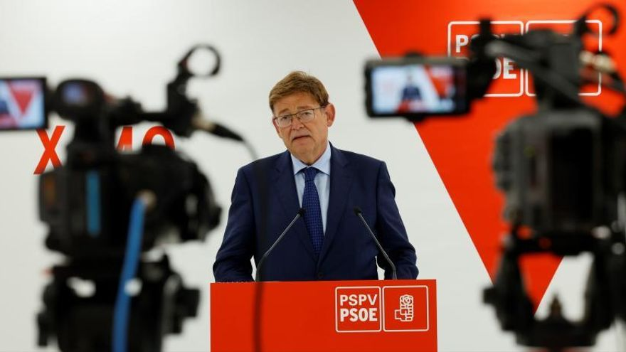 El secretari general del PSPV i president de la Generalitat, Ximo Puig, en una imatge d'arxiu