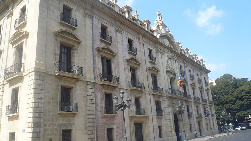 Imatge d'arxiu del Tribunal Superior de Justícia de la Comunitat Valenciana