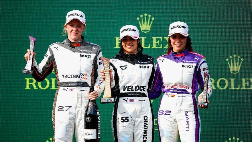 La pilot d'Albalat dels Sorells ha acabat tercera en el Gran Premi d'Hongria