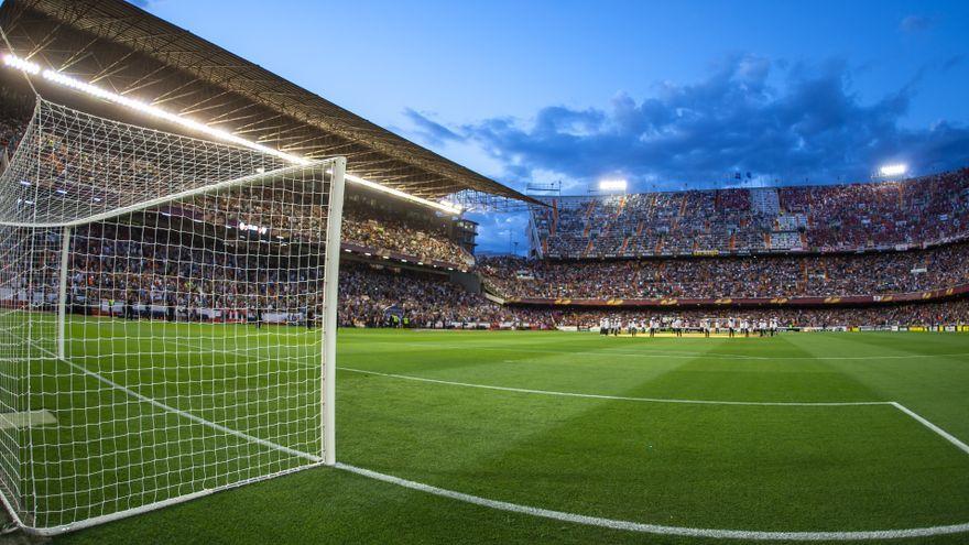 Estadi del Mestalla, on començarà la Lliga el divendres 13 d'agost amb un 40% aforament