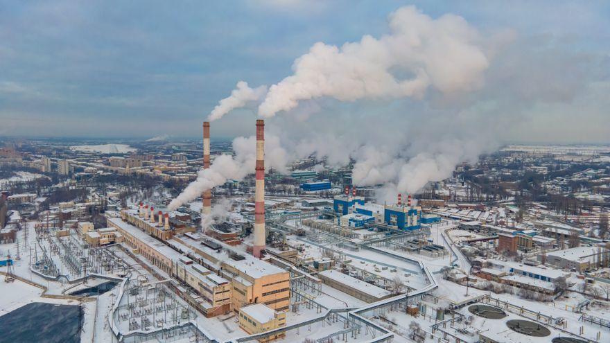 Emissions contaminants d'una fàbrica