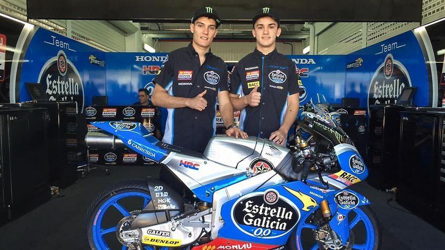 Jorge Navarro i Aron Canet ja van compartir equip el 2016