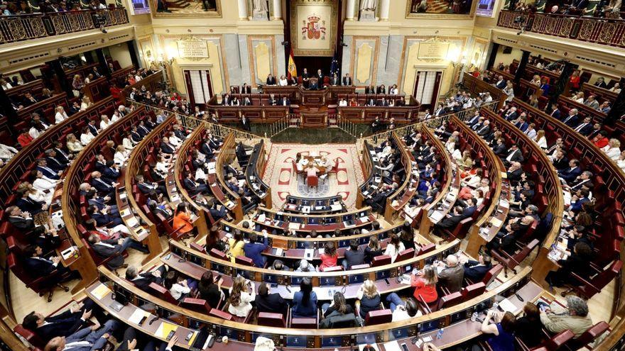 La paritat retrocedeix al Congrés després del 10N