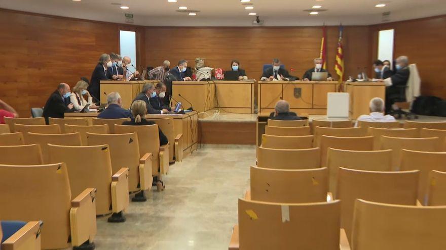 Un moment de la sessió del juí que ha acollit aquest dimarts l'Audiència d'Alacant