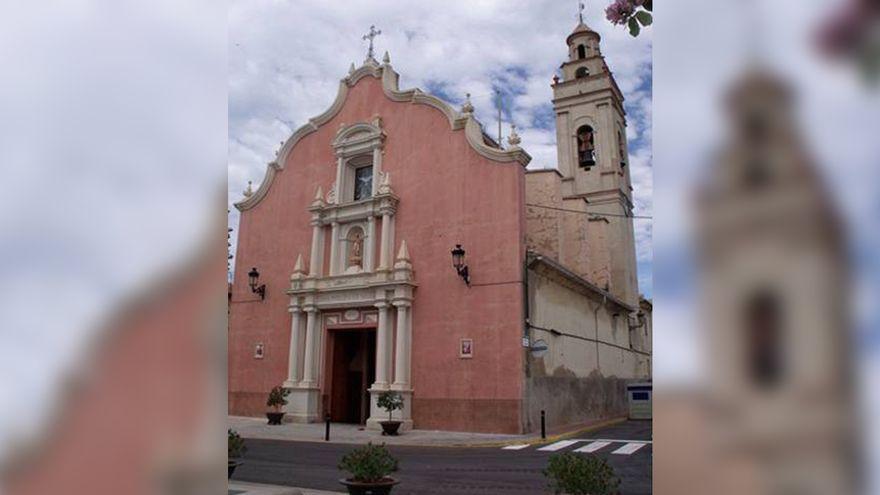 L'església de Llaurí, un dels escenaris dels robatoris