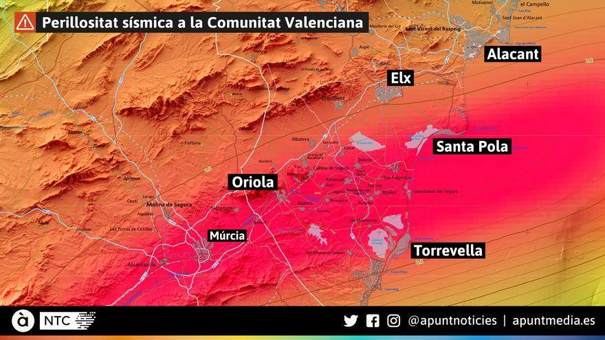 Perillositat sísmica a la Comunitat Valenciana